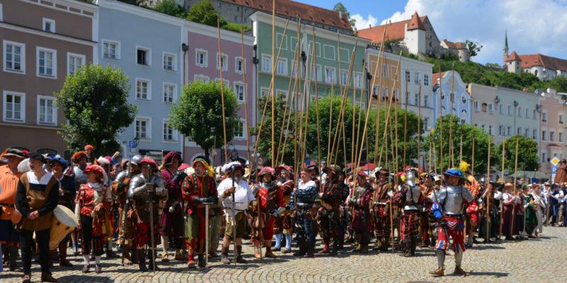 Burgfest Burghausen 2020