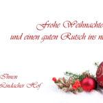 Weihnachtsferien Im Lindacher Hof